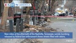 VOA60 Ameerikaa - Suspect Behind Nashville Bombing Not on Police Radar