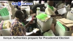 VOA60 World PM- Kenya: Authorities prepare for Presidential Election Tuesday