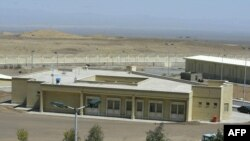 지난 2005년 3월 이란의 수도 테헤란에서 270km 떨어진 나탄즈 핵시설 단지의 모습.