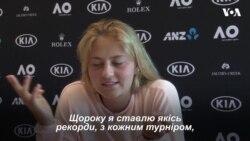 """15-річна українка стала наймолодшою тенісисткою """"Australia Open"""" за останні 22 роки. Відео"""