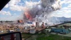 Eyewitness Video: Explosion at Mexico Fireworks Market