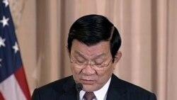Chủ tịch Sang: 'VN luôn coi trọng và xem Mỹ là đối tác hàng đầu'