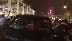 """香港民陣""""G20 Free Hong Kong""""集會愛丁堡廣場迫爆人潮"""