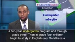 Anh ngữ đặc biệt: Ghanaian Kids Learn English (VOA)