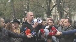 Protesta kundër devijimit të Radikës dhe Vjosës