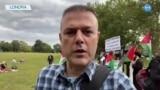 Londra'da Savaş Karşıtlarından Protesto