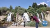 Waterfall in Eastern Turkey Sees More Visitors