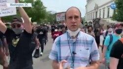 Washington'da Büyük Çaplı Protestolar