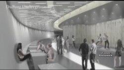 У Вашингтоні підземку перетворять на арт-простір. Відео