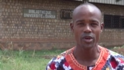Malgré la crise, les cours continuent à l'université de Bangui