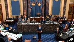 Fraksi Demokrat AS memulai argumen tiga hari, untuk menyatakan bahwa Presiden Donald Trump menyalahgunakan jabatan dalam sidang pemakzulan di Senat AS, hari Rabu (22/1).