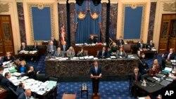 Demokrate i republikanci raspravljali su pravilima suđenja skoro 13 sati