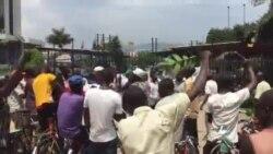 Imyiyerekano imbere y'ahakorera ishirahamwe ry'umuryango w'ubumwe bwa Buraya i Bujumbura