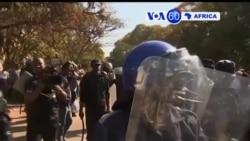 Manchetes Africanas 3 Agosto: Polícia de choque intervém no Zimbabwe