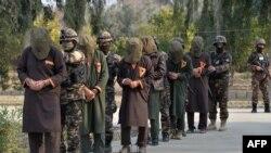 အဖမ္းခံရတဲ့ Taliban တပ္သားမ်ား