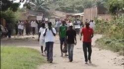 Imyiyerekano muri Kimine Ngagara, i Bujumbura, italiki zibiri z'ukwezi kwa gatandatu, umwaka w'2015.