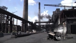 Ukraine Coking Plant Caught in Crossfire