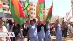 Bi Deh Hezaran Efrînî Êrîşên Tirkîyê Şermezar Kirin