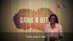 English in a Minute: Grab a Bite