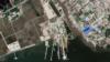 북한 남포에 300m 길이 유류 하역용 부두 건설