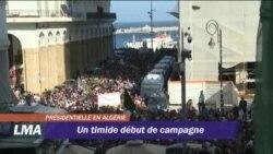 Début de la campagne électorale en Algérie
