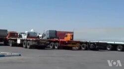 ادامه اعتصاب کامیونداران و رانندگان - روز دوشنبه ۹ مهر در قزوین