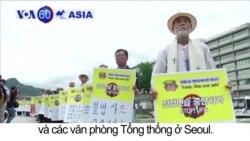 Biểu tình phản đối diễn tập Mỹ-Hàn tại Seoul
