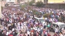 Cizre'de Ölenler İçin Toplu Cenaze Töreni