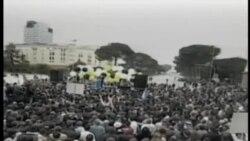 Protesta të opozitës në Tiranë