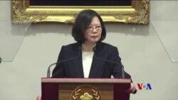 蔡英文呼籲北京冷靜理性對待台灣