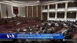 Tiranë, opozita braktis Parlamentin