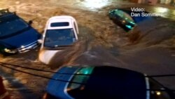 Dos muertos al ser arrastrados por una riada en pueblo de Maryland
