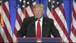Jumpa Pers Pertama Donald Trump