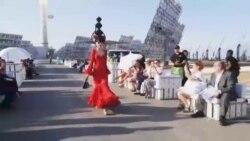 نمایش مد خورشیدی در اسپانیا