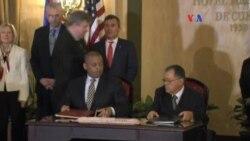 EE.UU. y Cuba firman pacto de aviación