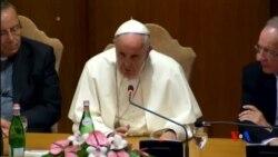 2015-07-22 美國之音視頻新聞:教宗方濟各高度關注全球氣候變化