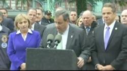 NJ Gov. Chris Christie on Train Derail Victims