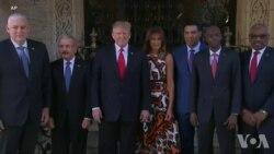 Rankont Ant Prezidan Donald Trump ak Prezidan Ayisyen an Jovenel Moïse