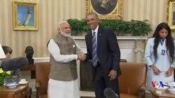 奧巴馬與印度總理商討氣候協定進程