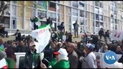 Manifestation contre le nouveau président algérien par intérim