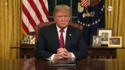 Diskou Prezidan Trump sou Pwoblèm Fwontalyè Etazini ak Meksik