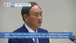 VOA60 World - Japan's ruling party backs Yoshihide Suga as next prime minister