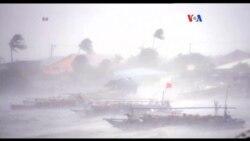 Alerta en el Pacífico asiático por tifón