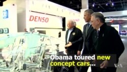 Obama Claims Credit for Auto Industry Recovery