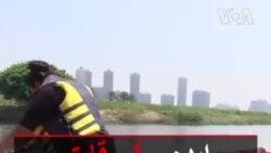 ایده سفر قایق با رکاب دوچرخه در رود نیل