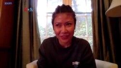 Evita Chu: Pembuat Baju Rajut Michelle Obama di Inaugurasi Presiden Joe Biden