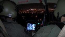 Visión infrarroja en el patrullaje aéreo policial de Miami-Dade