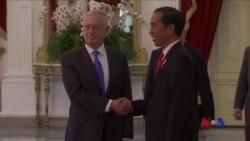 美防長:期待與印尼合作維持亞太地區海上安全
