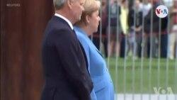 Chancelye Alman an, Angela Merkel, Di li Pa Gen Pwoblèm Sante Malgre Ti Tranble an Piblik