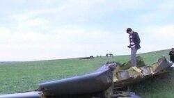 美軍機在吉爾吉斯斯坦墜毀